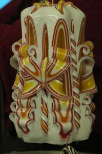 Custom Carved - Sonnys Sunrise Basket 8in